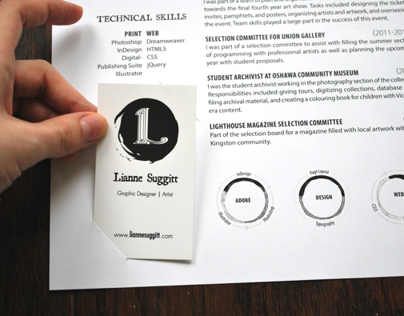 Innovative Resume (Lianne Suggitt)