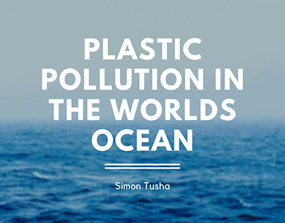 Plastic Pollution in the Worlds Ocean