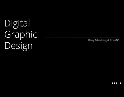 digital graphic design for Berry Adverstising & smartNS