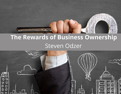 Steven Odzer of Woodmere, NY On the Rewards of Business