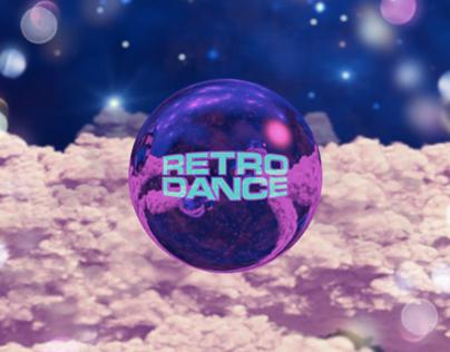 Branding RETRO DANCE PROGRAM   BRIDGE TV