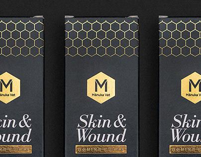 Packaging: Manuka Vet Skin & Wound Equine Creme