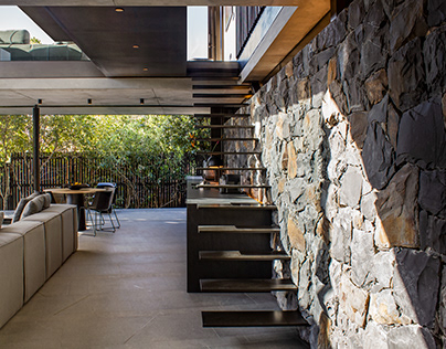 Cranberry Pavilion in Camps Bay by Wright Architects