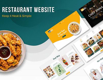 Restaurant Web Design