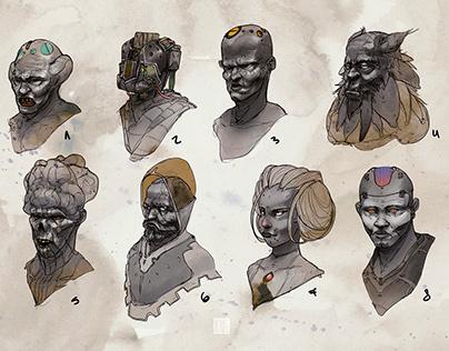 Character design vol .8