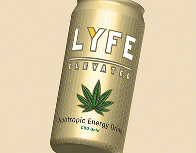 3D Models for Lyfe Elevated Nootropics Ready to Drink