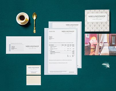 Nibelungenhof: Corporate Design