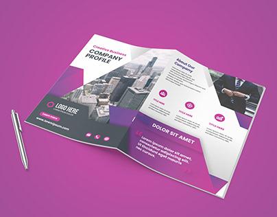 Bi-Fold Business Brochure Design