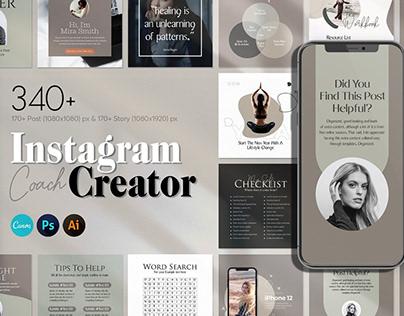 Instagram Creator For Coaches CANVA
