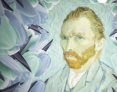Van Gogh Colors Exhibition posters, Poster design 2018
