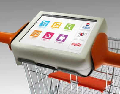 Digital Shopping Cart Tablet