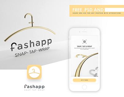 Fashion app design UI Free .Psd
