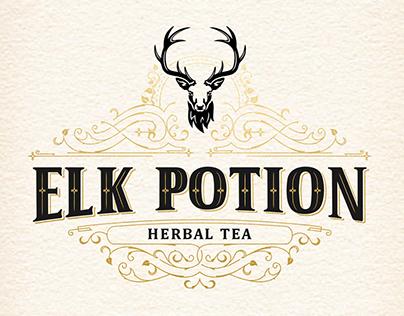 Elk Potion- Herbal Tea Logo