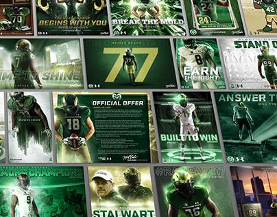 CSU Football Individual Recruiting Graphics
