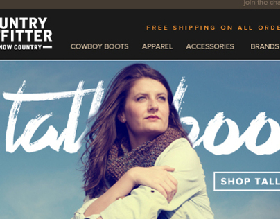 Country Outfitter Email
