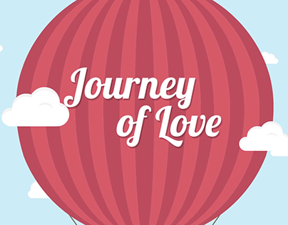 """Journey of Love"" Wedding Motion Graphic Video"