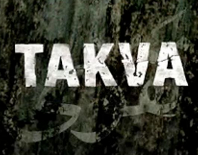 TAKVA – A Man's Fear of God – title design