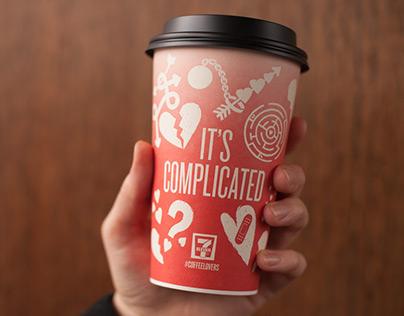 7-Eleven Valentine's Day Coffee Cups