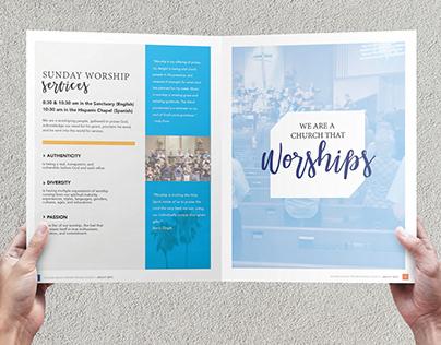 Church Annual Report / Brochure