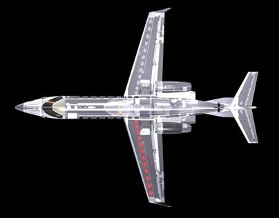 3D_Aircraft_Art_Glass _Phantom_Views