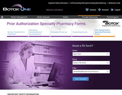 Medical Portal UX Design