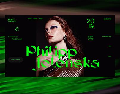 Redesign portfolio website | Сайт на Тильде