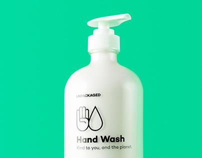 Unpackaged Hand Wash