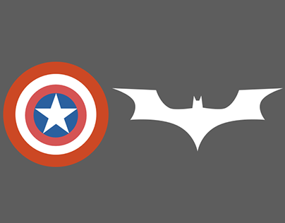 Marvel and DC Minimalistic