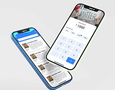 Donation App - UI/UX