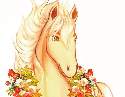 """Saturno """"O Cavalo de Ouro"""""""