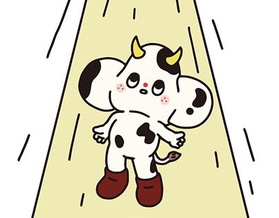 Starfy illust Sticker