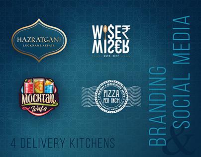 4 Delivery Kitchens   Branding & Social Media
