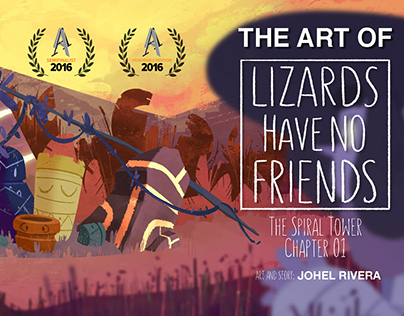 The Art of Lizards Have No Friends