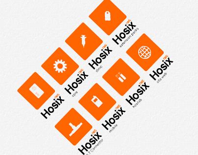 Family of logos Hosix .NET
