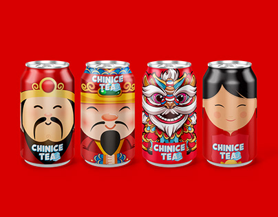 Package design for Chinice Tea