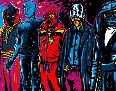 Mural Watchmen