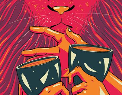 The Prismatic Tarot: Minor Arcana: Cups