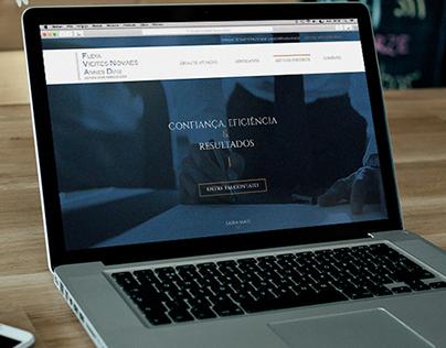 Site FVNAD Advogados Associados