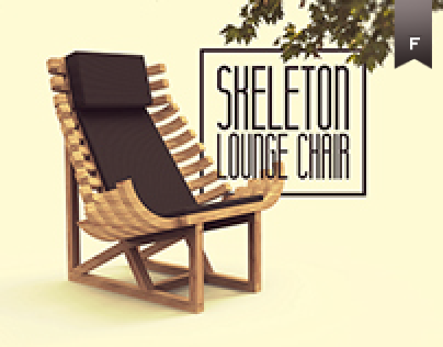 Skeleton // Lounge Chair