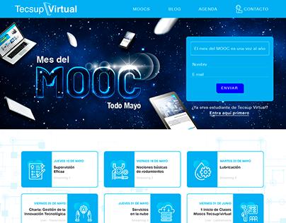 Tecsup Virtual Landing Page