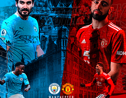 Manchester City x Manchester United Matchday 2021