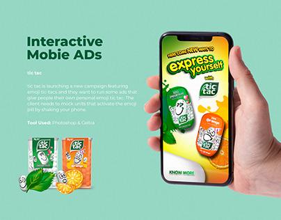 Interactive AD - tic tac