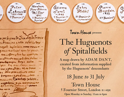 The Huguenots of Spitalfields at Town House