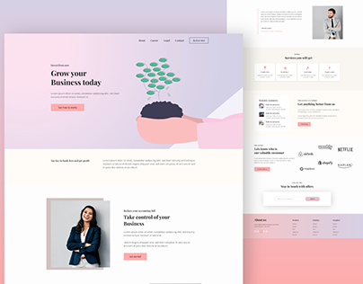 Business growing web design
