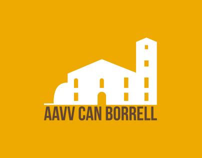 AAVV Can Borrell / Rebranding