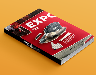 EXPO '22 (Handcrafting book cover)