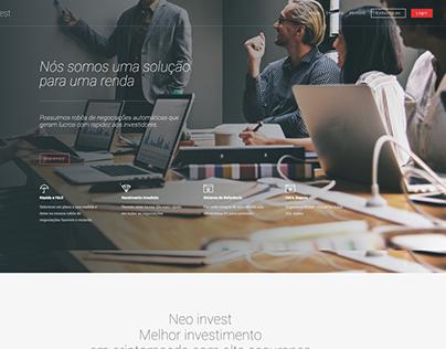 NeoInvest - Web Site