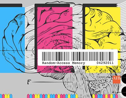 Random Access Memory: Postcard Design