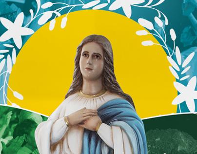 Cartaz Festa da Padroeira de Ipueiras 2016