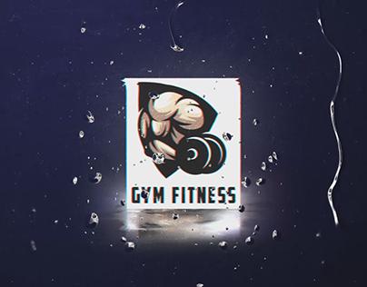 Gym Fitness Logo Reveal